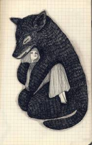 loup par Megumi Isadottir