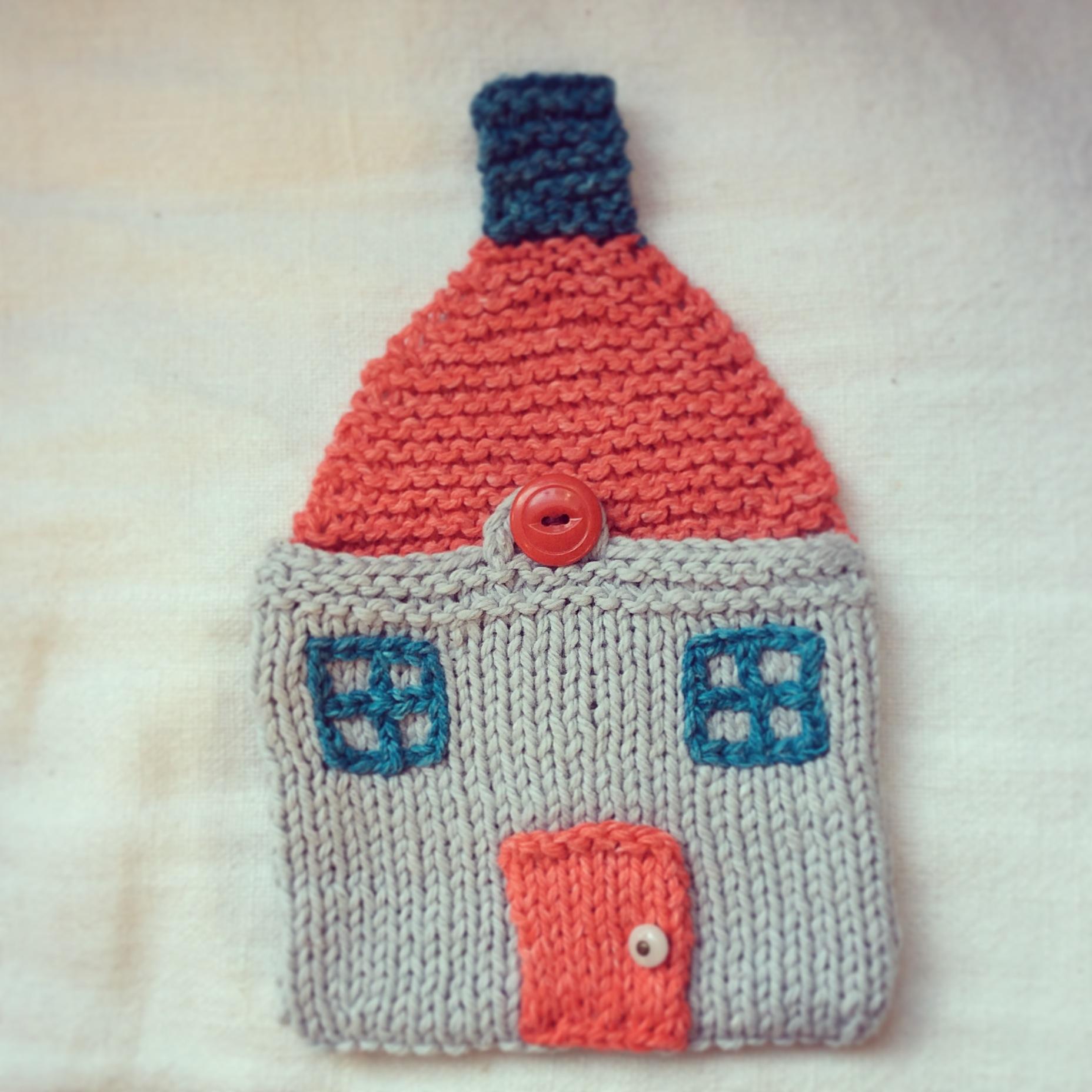 tricoter une maison